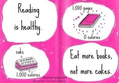 Reading is healthy